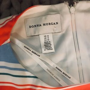 Donna Morgan Striped Dress